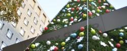 青山エイベックス本社のクリスマスツリー2013
