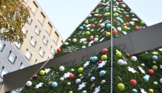 本社建て替えのため青山エイベックス最後のクリスマスツリー。