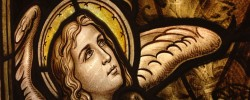 セントグレース大聖堂のステンドグラス