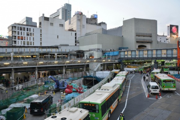 渋谷駅遠景