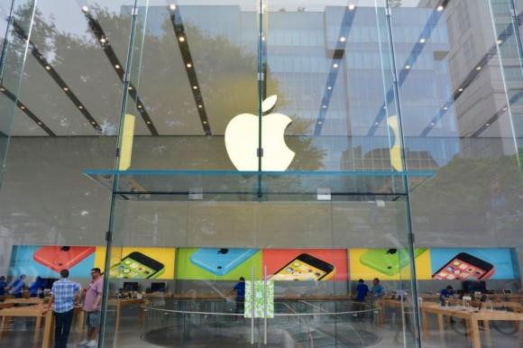 AppleStore表参道正面入口